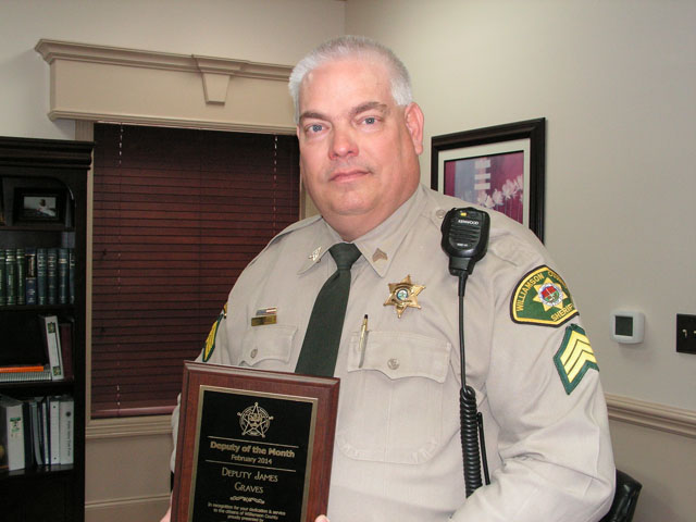 James Graves - Deputy of the Month Feb 2014